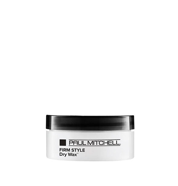 A jar of Paul Mitchell Firm Style Dry Wax