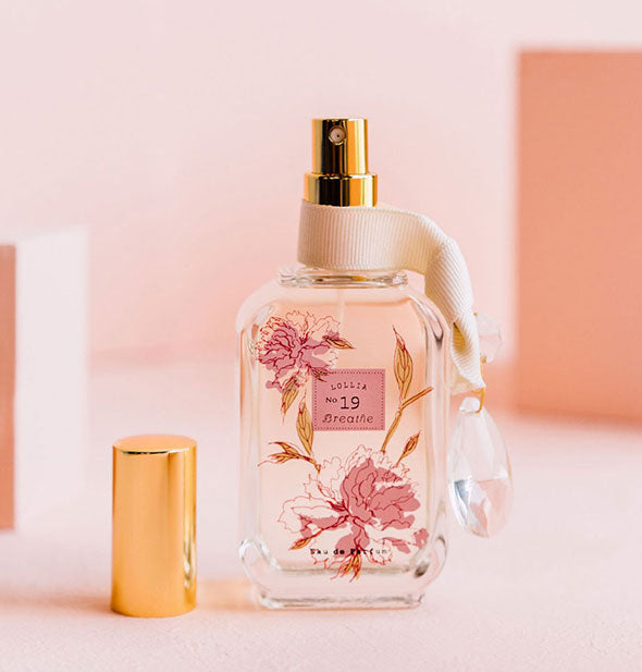 peony and white lily parfum