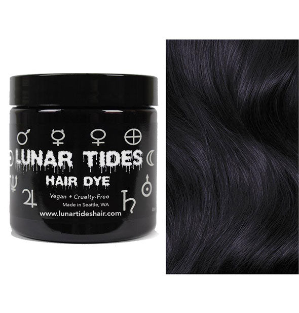 semi permanent hair dye in eclipse black