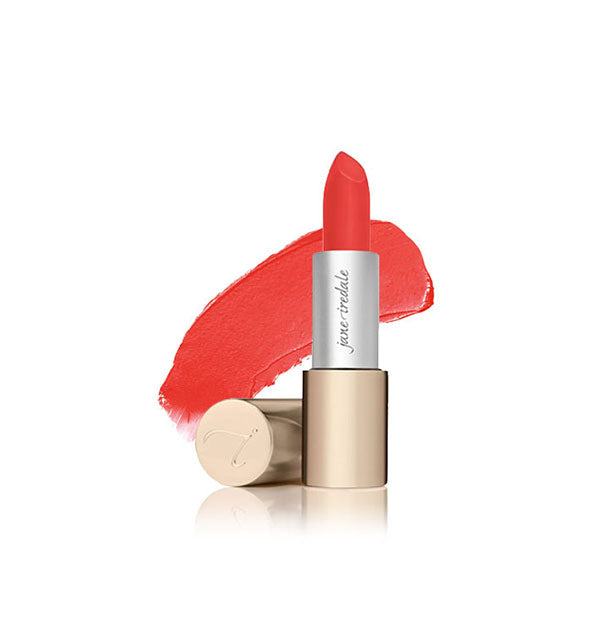 A tube of Jane Iredale Triple Luxe lipstick in the shade Ellen