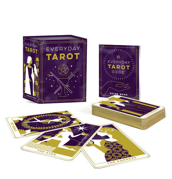 Everyday Tarot card deck with booklet