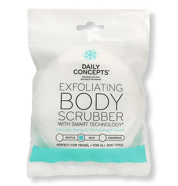 Exfoliating Body Scrubber for Mild  skin