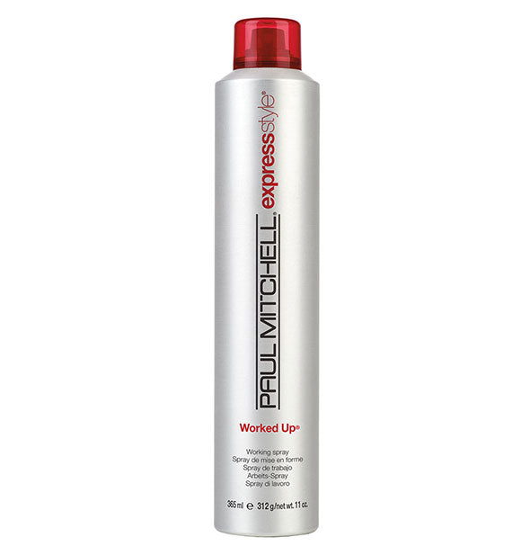 A can of Paul Mitchell Express Style Worked Up 11 OZ