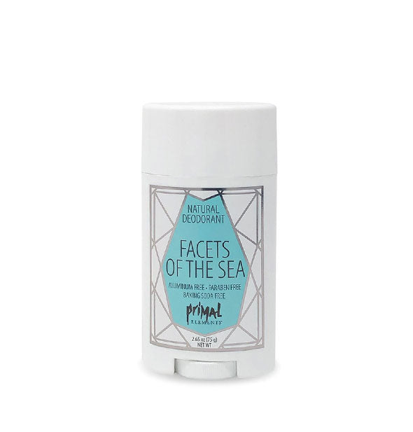 Aluminum-Paraben-Soy Free FACETS OF THE SEA Natural Deodorant 2.65 Oz by Primal Elements
