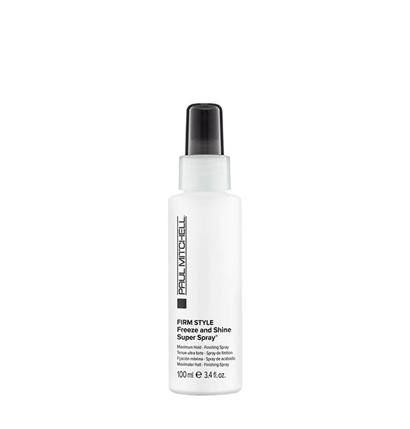 The TRAVEL SIZE of Paul Mitchell - Firm Style Freeze And Shine Super Spray