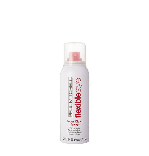 The TRAVEL SIZE of Paul Mitchell Flexible Style Super Clean Spray 3.5 OZ