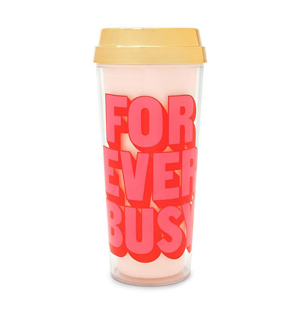 ban.do - Deluxe Hot Stuff Thermal Mug: Forever Busy
