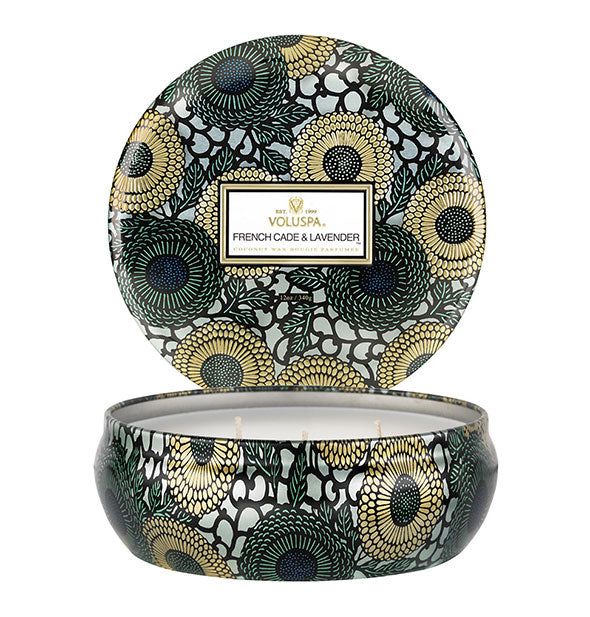 Voluspa - French Cade Lavender 3-Wick Decorative Candle (4460674908230)