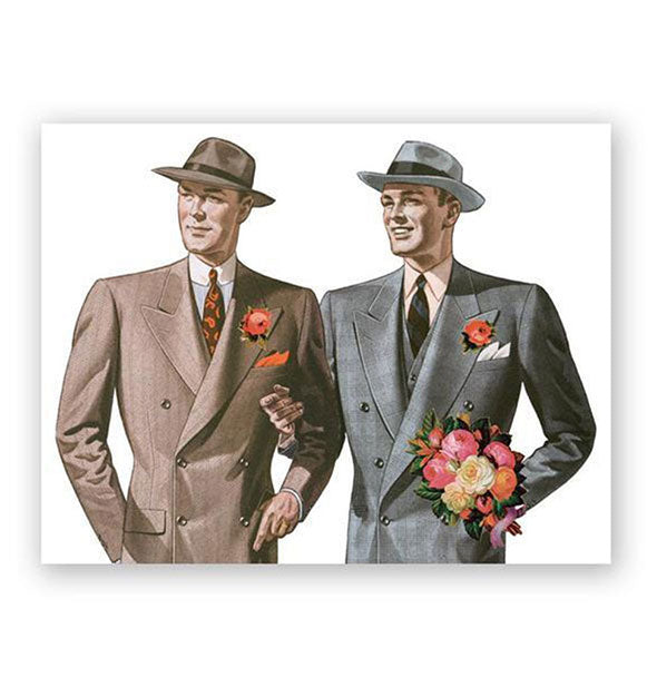 The Mincing Mockingbird - Gay Wedding Congrats Card (4460635783238)