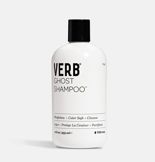 12 ounce bottle of Verb Ghost Shampoo