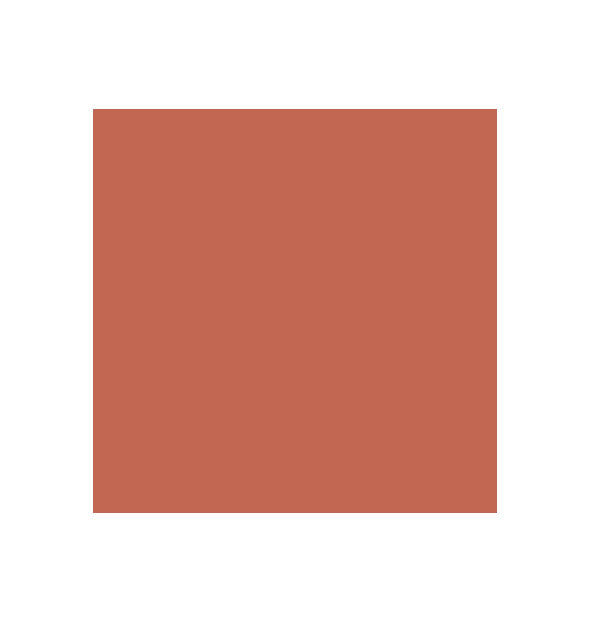 Rich coppery-rose swatch square