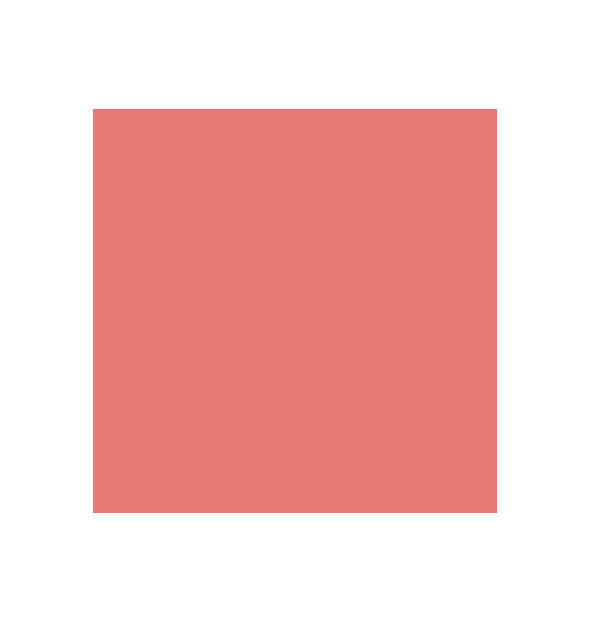 Light, dusty peachy-pink swatch square