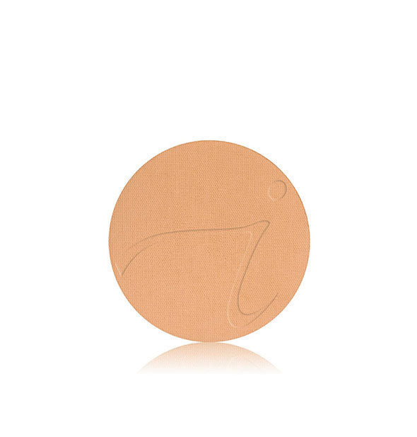 Pressed Base Mineral Foundation Powder Refill in golden tan