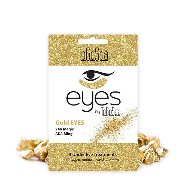 3 Gold Eyes 24K Magic Under Eye Masks 24K Magic