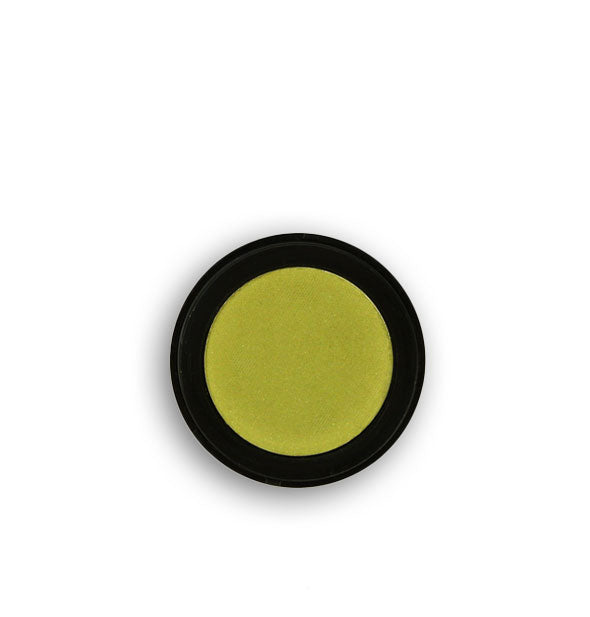 Avocado green pressed powder eyeshadow