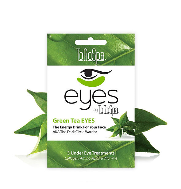 3 Green Tea Under Eye Masks The Energy Drink for Your Face