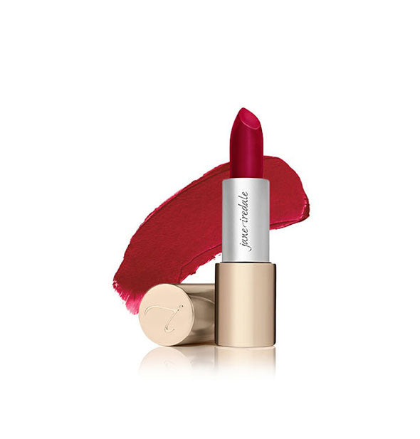A tube of Jane Iredale Triple Luxe lipstick in the shade Gwen