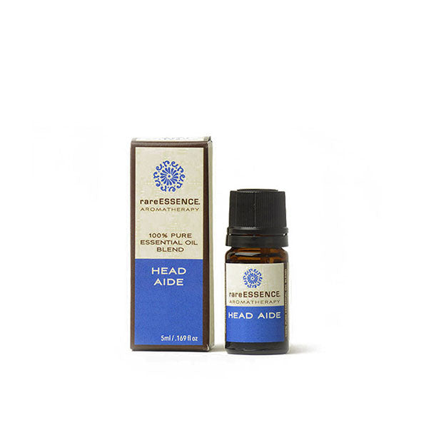 "The ""Head Aide"" Basil and Lavender Inhaler from Rare Essence Aromatherapy"
