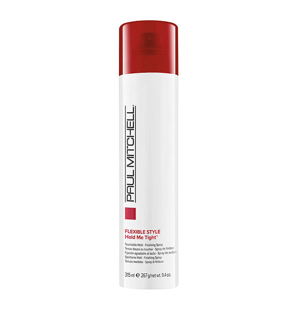A can of Paul Mitchell Express Style Hold Me Tight 9.4 OZ