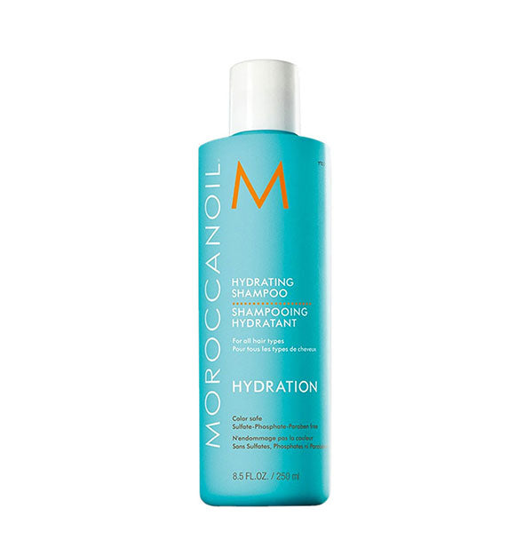 8.5 ounce bottle of Moroccanoil Hydrating Shampoo