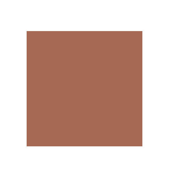 Warm brown swatch square