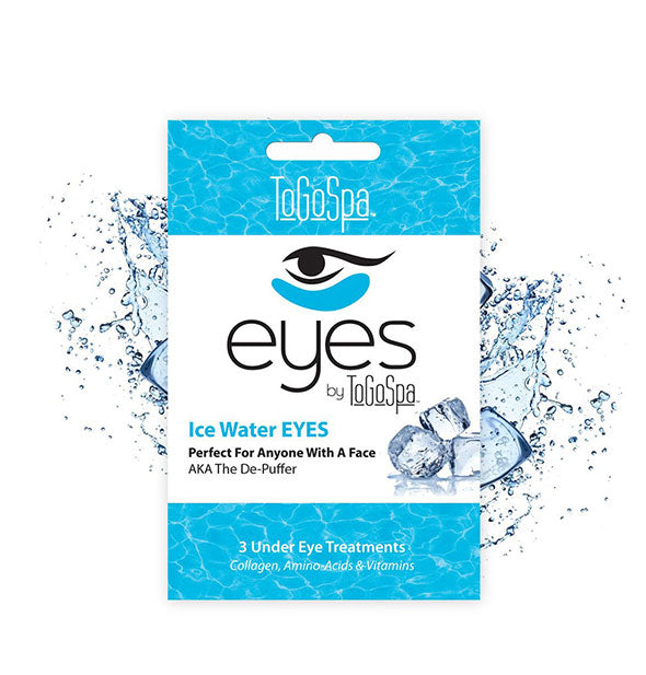 3 Ice Water Under Eye Masks for anyone with a face