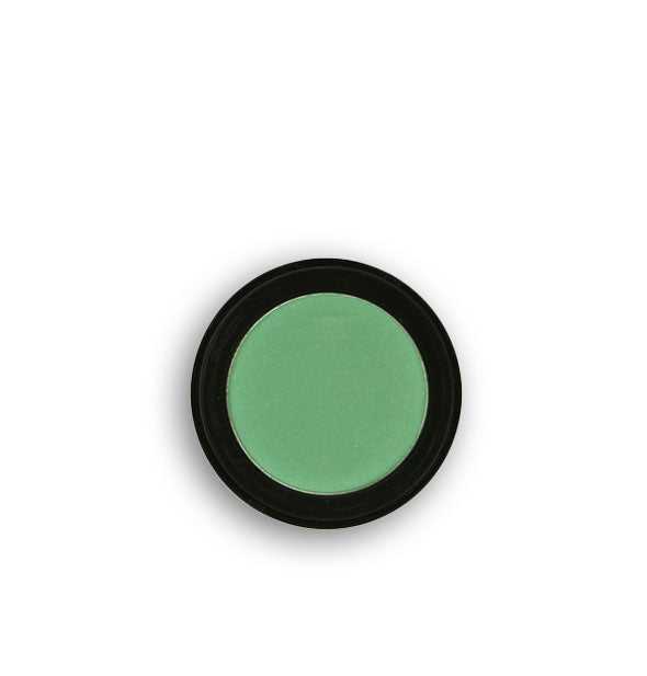 Jade green pressed powder eyeshadow