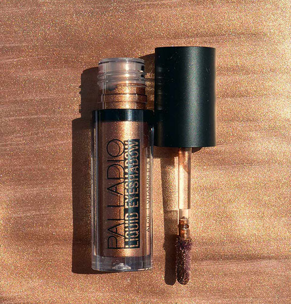 The Palladio Liquid Eyeshadow Applicator with JASPER eyeshadow