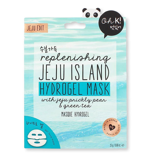 Replenishing Jeju Island Hydrogel Mask
