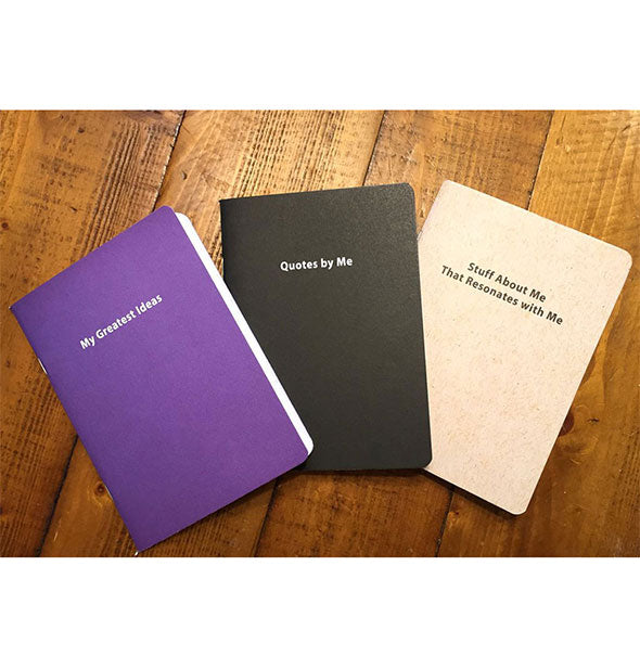 Three Journals For Narcissists Greatest Ideas Quotes By Me and Stuff About Me