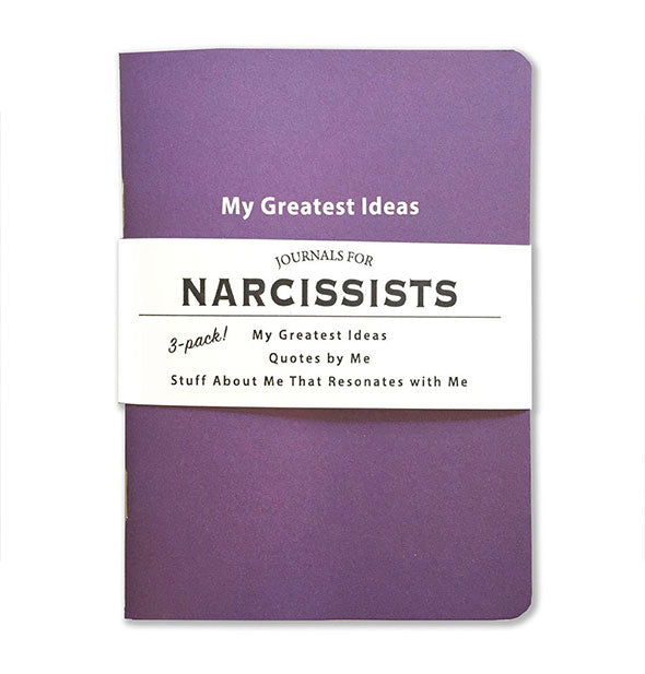 3 pack Journals for Narcissists Greatest Ideas Quotes and Stuff About Me