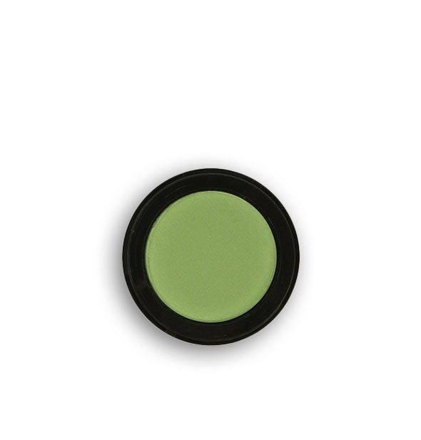 Mossy green pressed powder eyeshadow