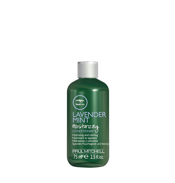 2.5 ounce bottle of Paul Mitchell Tea Tree Lavender Mint Moisturizing Conditioner