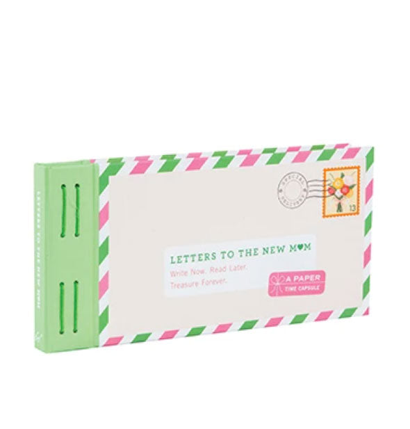Letters to the New Mom paper time capsule booklet