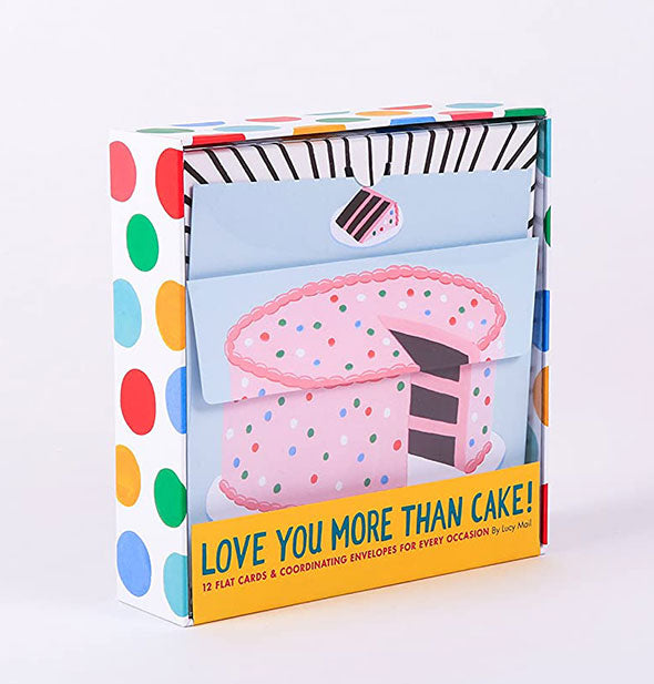 Love You More Than Cake! card set