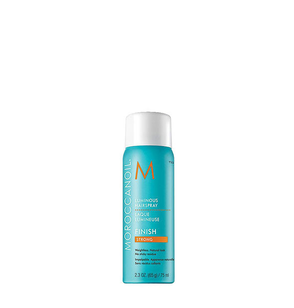 luminous finishing hairspray strong hold travel size