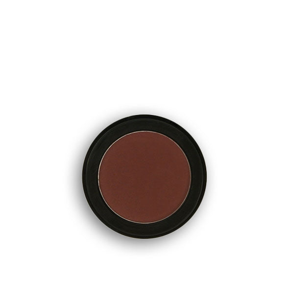 Dark mahogany pressed powder eyeshadow