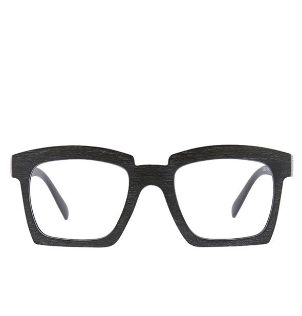 Front view of Peepers Standing Ovation Readers in Black.