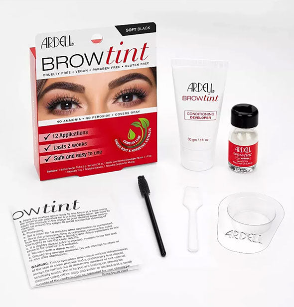 Multiple Colors Brow Tint Kit 12 Applications