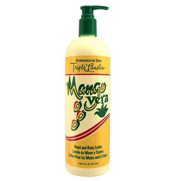 Bottle of Mango Vera Hand And Body Lotion 20 OZ