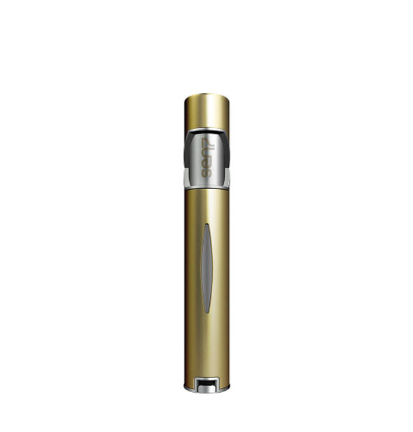 Slender matte gold Sen7 perfume atomizer bottle