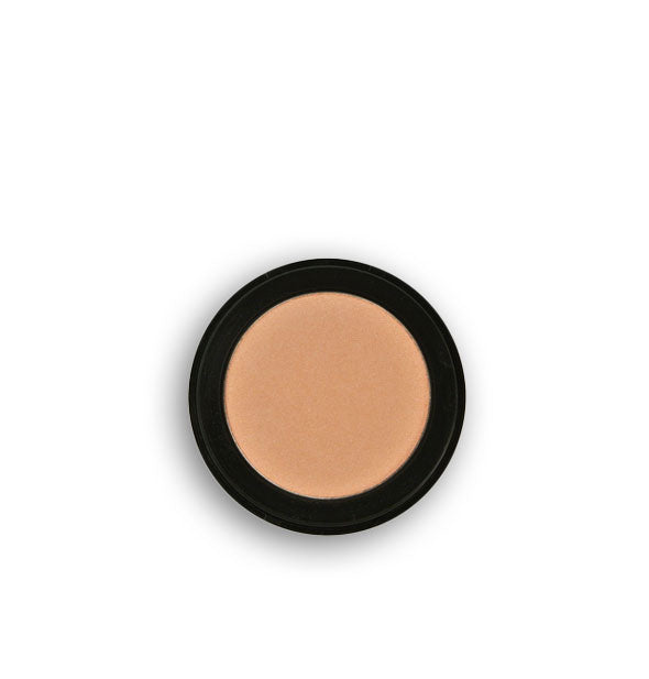 Light creamy peach pressed powder eyeshadow