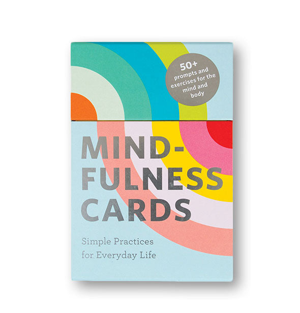 Colorful pack of Mindfulness Cards
