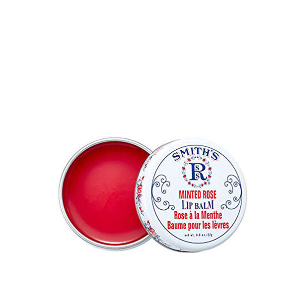 The Rosebud Perfume Co. - Smith's Minted Rose Lip Balm Tin