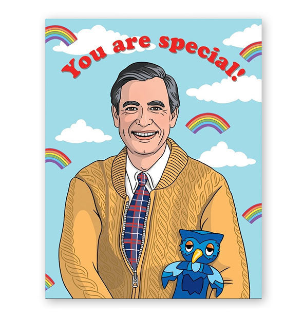 The Mister Rogers You Are Special Card