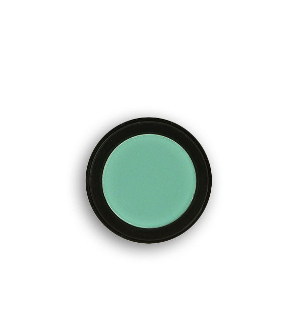 Bright teal pressed powder eyeshadow