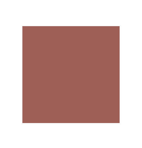 Deep dusty peachy-brown swatch square