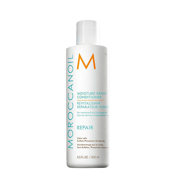 8.5 ounce bottle of Moroccanoil Moisture Repair Conditioner