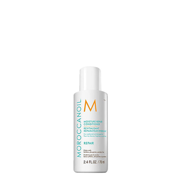 2.4 ounce bottle of Moroccanoil Moisture Repair Conditioner