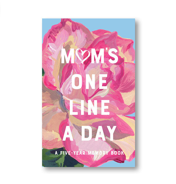 Floral Mom's One Line a Day memory book